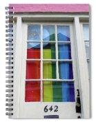New Orleans Door 10 Spiral Notebook