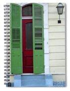 New Orleans Door 11 Spiral Notebook