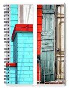 New Orleans Doorways Diptych One Spiral Notebook