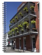 New Orleans French Quarter Spiral Notebook