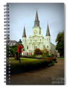 New Orleans Holiday Spiral Notebook
