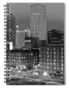 New Orleans In Black And Night Spiral Notebook
