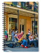 New Orleans Jazz 2 Spiral Notebook