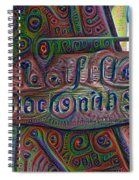 New Orleans - Lafittes Blacksmith Shop Sign Spiral Notebook
