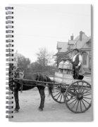 New Orleans: Milk Cart Spiral Notebook