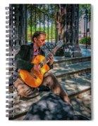 New Orleans Musician - Chris Craig Spiral Notebook