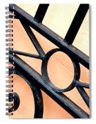 New Orleans Orange Spiral Notebook