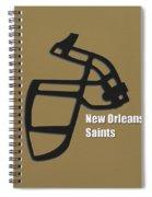 New Orleans Saints Retro Spiral Notebook