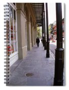 New Orleans Sidewalk 2004 Spiral Notebook
