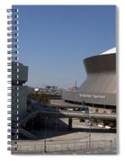 New Orleans Sports And Entertainment Complex Spiral Notebook