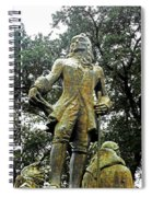 New Orleans Statues 1 Spiral Notebook
