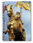 New Orleans Statues 13 Spiral Notebook