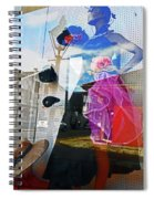 New Orleans Statues 9 Spiral Notebook