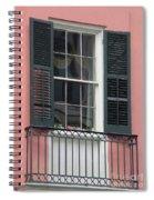 New Orleans Windows 4 Spiral Notebook