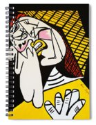 New Picasso The Weeper 2 Spiral Notebook