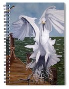 New Point Egret Spiral Notebook