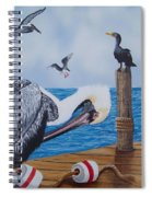 New Point Pelican Spiral Notebook