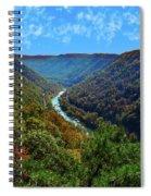 New River Gorge - Autumn Spiral Notebook