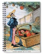 New Territories Cartoon Spiral Notebook