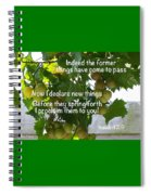 New Things Scripture Spiral Notebook