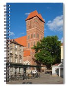 New Town Square In Torun Spiral Notebook
