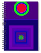 New Violet Spiral Notebook