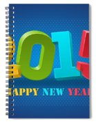 New Year 2015 Spiral Notebook