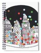 New Year Spiral Notebook