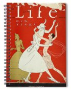 New Year: Magazine Cover Spiral Notebook