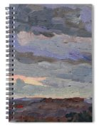 New Year Stratocumulus Spiral Notebook