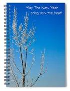 New Year Wish Spiral Notebook