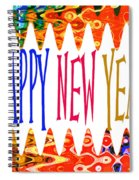 New Year's Greetings Spiral Notebook