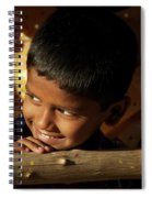 New Year's Light Spiral Notebook