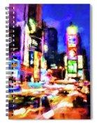 New York At Night - 15 Spiral Notebook