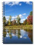 New York Autumn Landscape Spiral Notebook