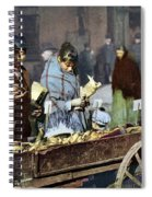 New York: Banana Cart Spiral Notebook