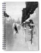 New York: Blizzard Of 1888 Spiral Notebook