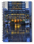 New York Blues Spiral Notebook