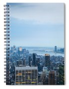 New York Blues Spiral Notebook