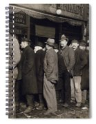 New York: Bread Line, 1907 Spiral Notebook