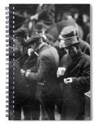 New York: Bread Line, 1915 Spiral Notebook