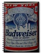 New York Bud Spiral Notebook