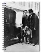 New York: Chimpanzee, C1910 Spiral Notebook
