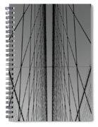 New York City - Brooklyn Bridge Spiral Notebook