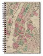 New York City, Brooklyn, Jersey City, Hoboken Spiral Notebook
