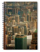 New York City Buildings And Skyline Spiral Notebook