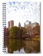 New York City Central Park Living - Impressions Of Manhattan Spiral Notebook