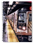 New York City Charles Street Subway Station Spiral Notebook