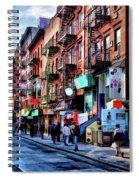New York City Chinatown Spiral Notebook