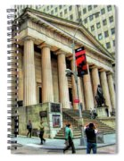New York City Federal Hall Spiral Notebook